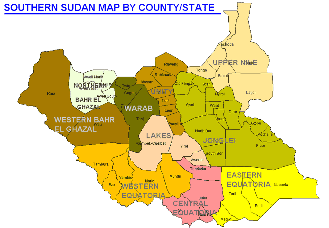 South Sudan  Council Of South Sudanese Community of Manitoba